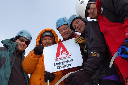 Mountaineering For A Cure