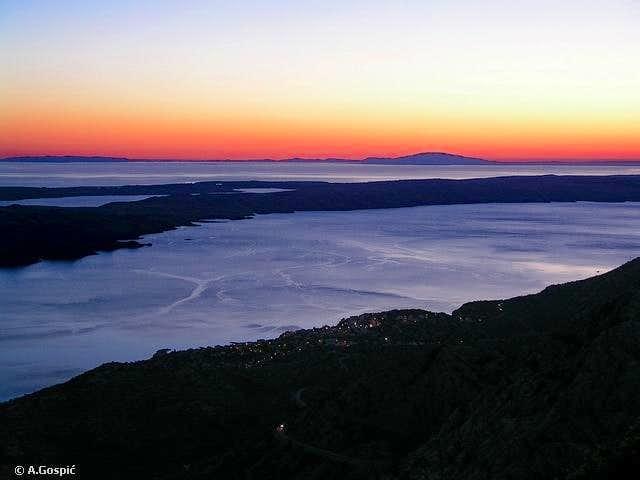 Dusk over the Adriatic Sea...