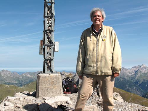 Me on top of the Rüfispitze