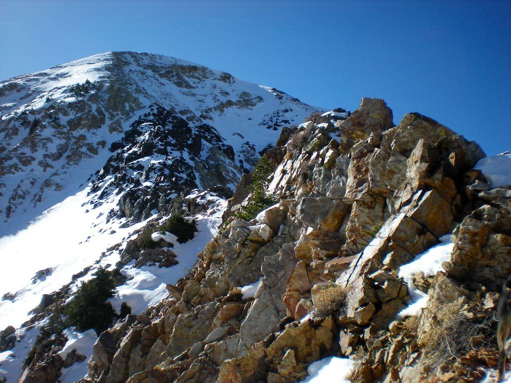 Ridge shot to AF Twin