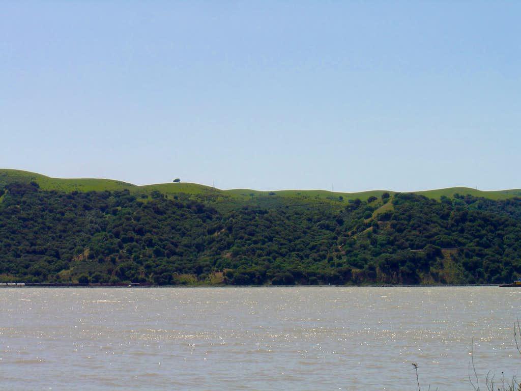 north facing side