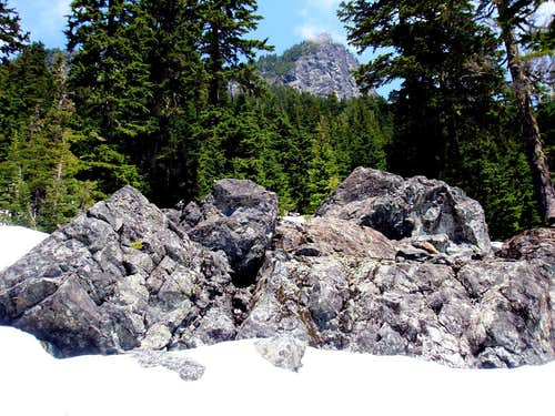 summit from yellow route