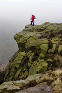 On the Edge Of Kinder, Peak District, UK