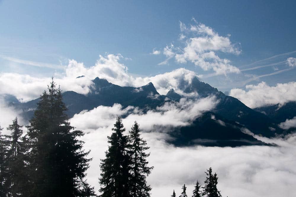 Sarlkofel / Monte Serla and Lungkofel / Monte Lung