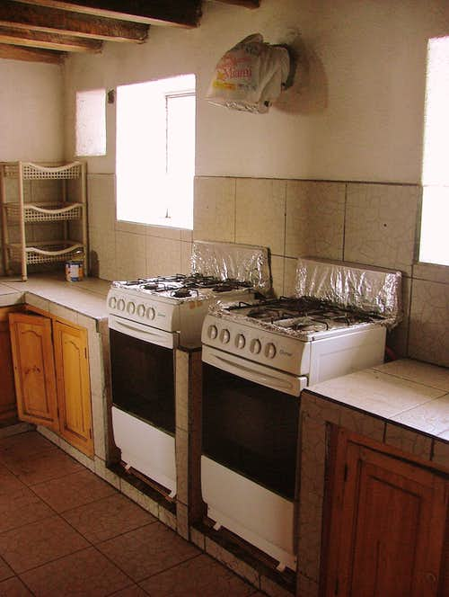 Cotopaxi Kitchen.