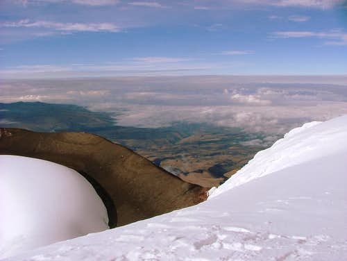 Cotopaxi Crater Rim.