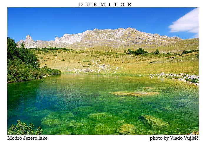 Modro Jezero lake
