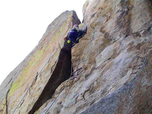 Dave Daly leading pitch 1 on...