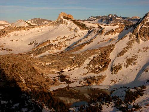 Tuolumne high country in the...