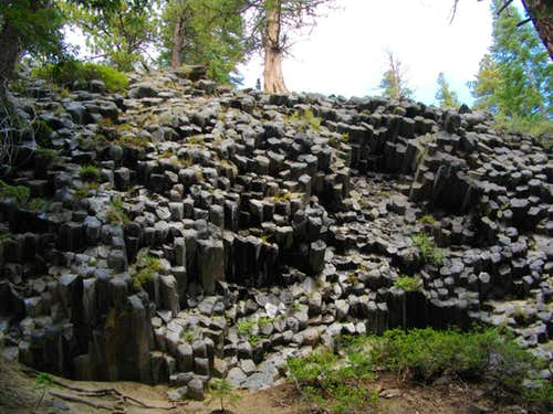 The Devil s Postpile