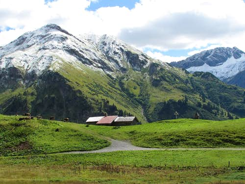 Bürstegg above Lech am Arlberg