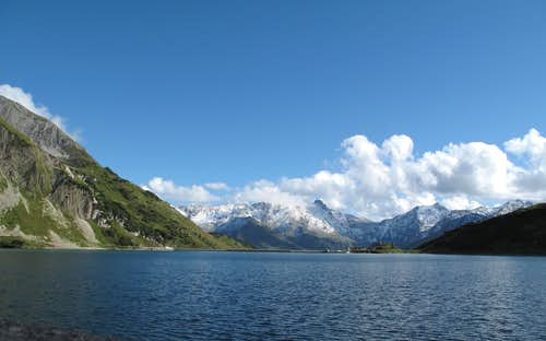The Spullersee lake