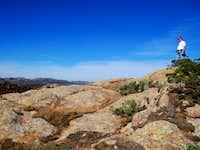 On the Summit, Mt Parker