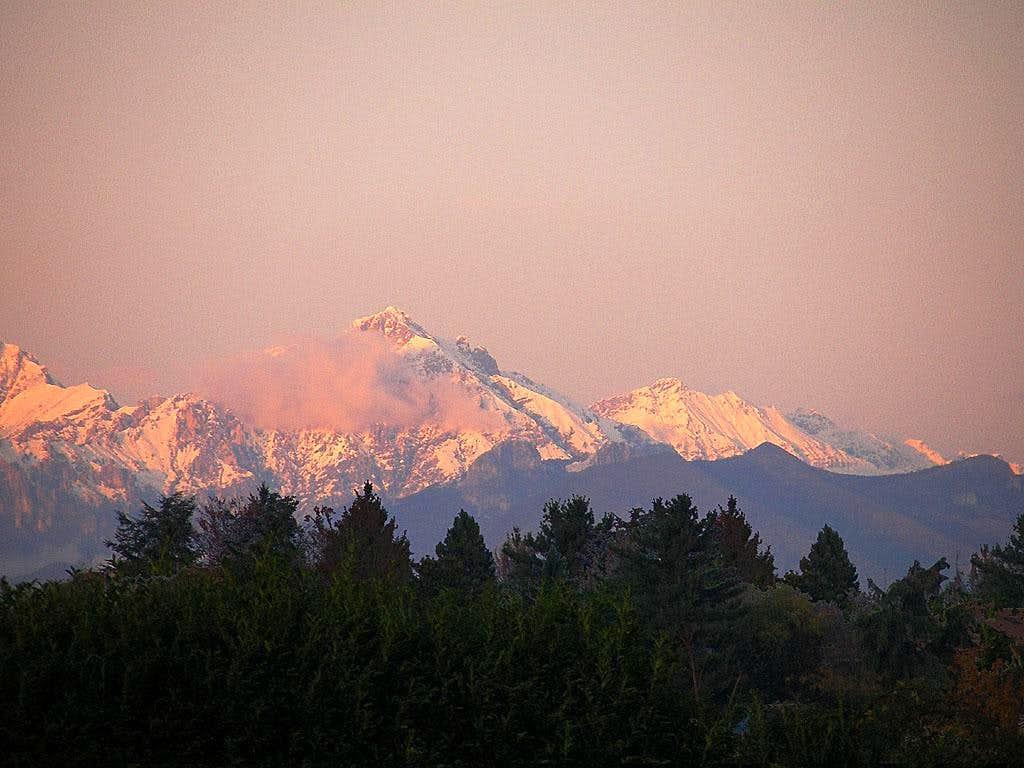 Grignetta in mid-autumn sunset