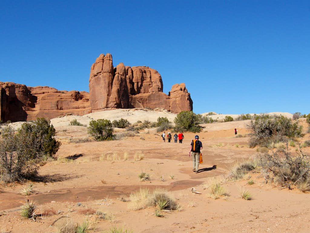 Hike back