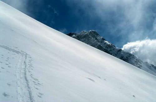 The nice and steep south...