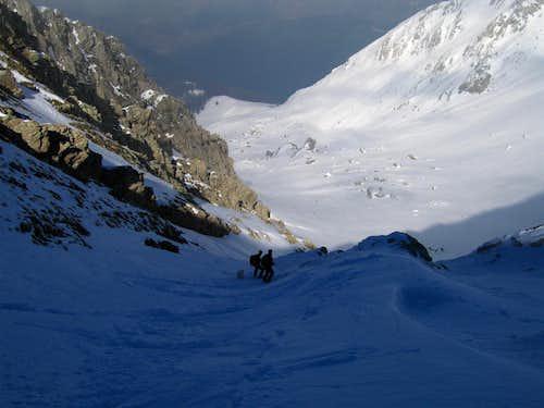 Monte Corvo, Fosso del Monte