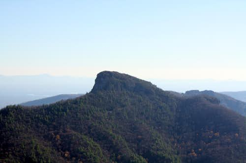 Table Rock from Hawksbill