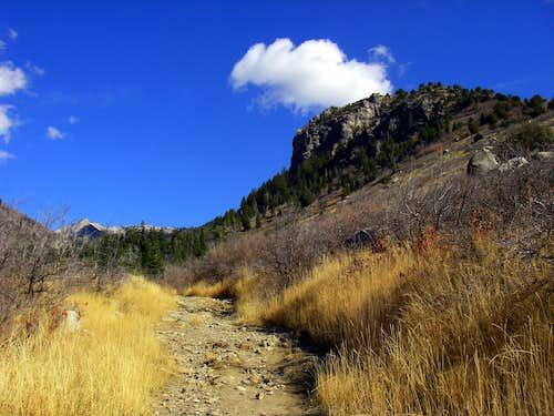 Dry Creek Canyon Trail