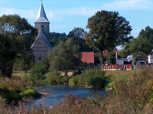 The Bóbr river in Rudawy Janowickie, near Wojanów