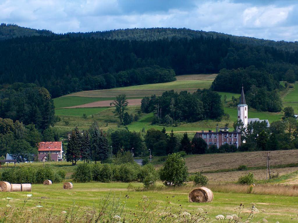 Landscape of Rudawy Janowickie