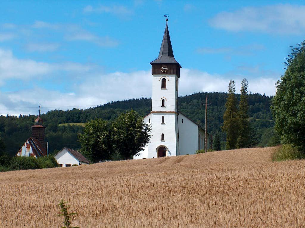 Wieściszowice, in Rudawy Janowickie