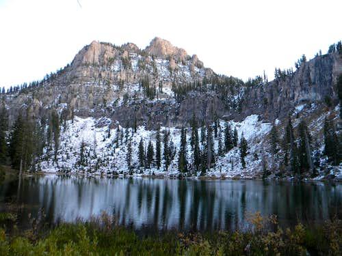 White Pine Lake Below Magog