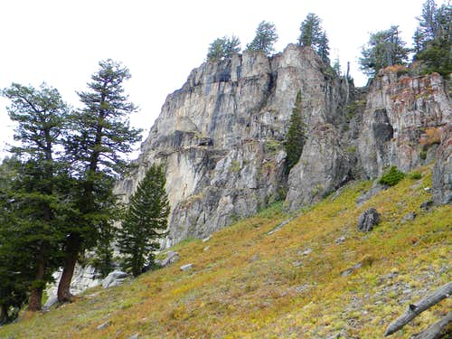 Rocks in the South Basin
