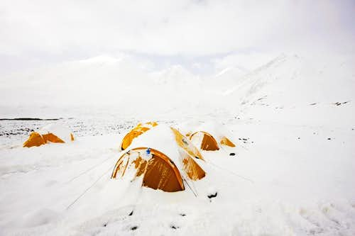 Yuzhufeng base camp