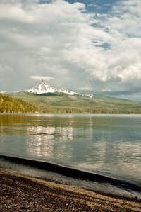 Mt. Thielsen from Diamond Lake