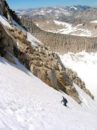 Glacier Route and Y-Couloir