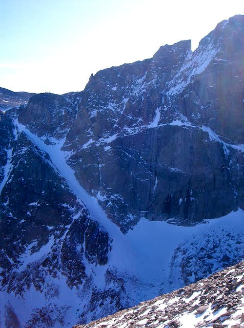 Another Possible Route on Longs Peak