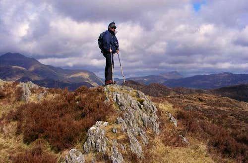 Summit area of Mynydd Sygyn