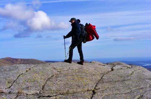 Summit of Craig Eigiau