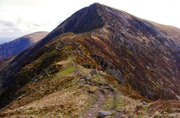 Bwlch Eryl Farchog Ridge