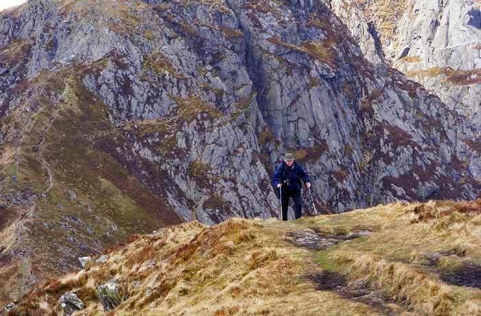 Craig yr Ysfa Cliffs