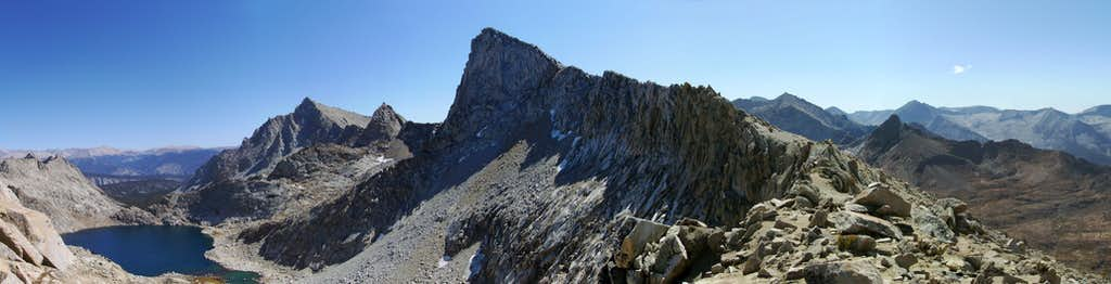 From Sawtooth Pass