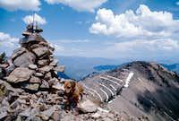 Storm Mtn summit
