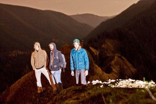 Summit at Night