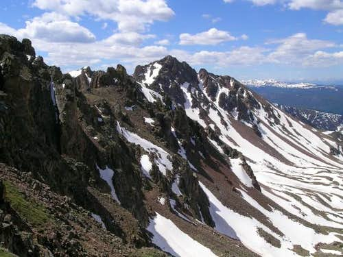 Snow Peak (13,024-ft) from...