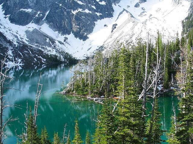 The color of Colchuck Lake...