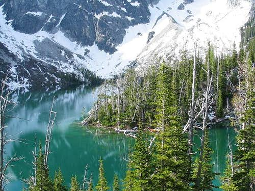 The color of Colchuck Lake...