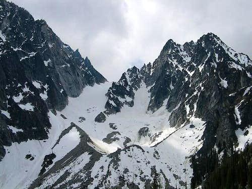 Colchuck Peak, the Colchuck...