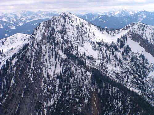 Strawberry Peak from Haystack Peak