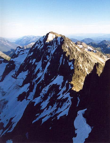 Mt. Maude as seen from Seven...