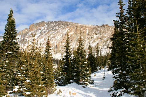 RMNP Conditions: Lawn Lake Trail in November