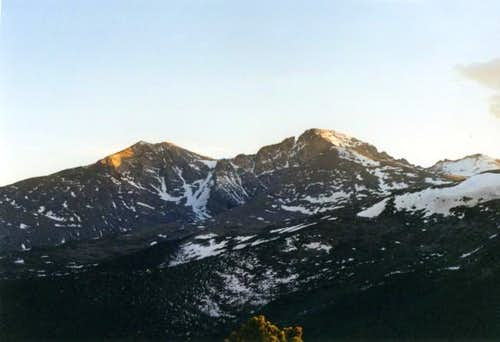 Longs Peak along with Mt....