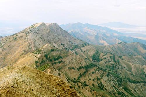 Stansbury Mountains north of Deseret Peak