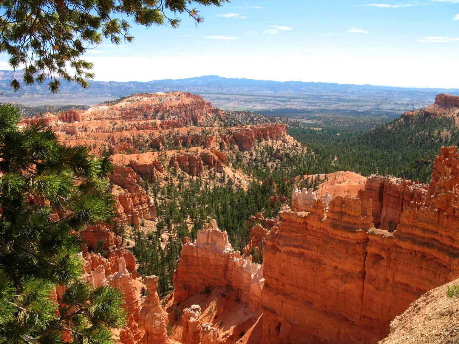 Mount Dutton  & Bryce Canyon (UT)