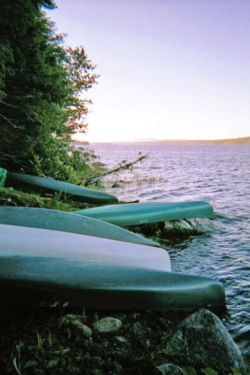 Canoeing 2002 before shoulder reconstruction